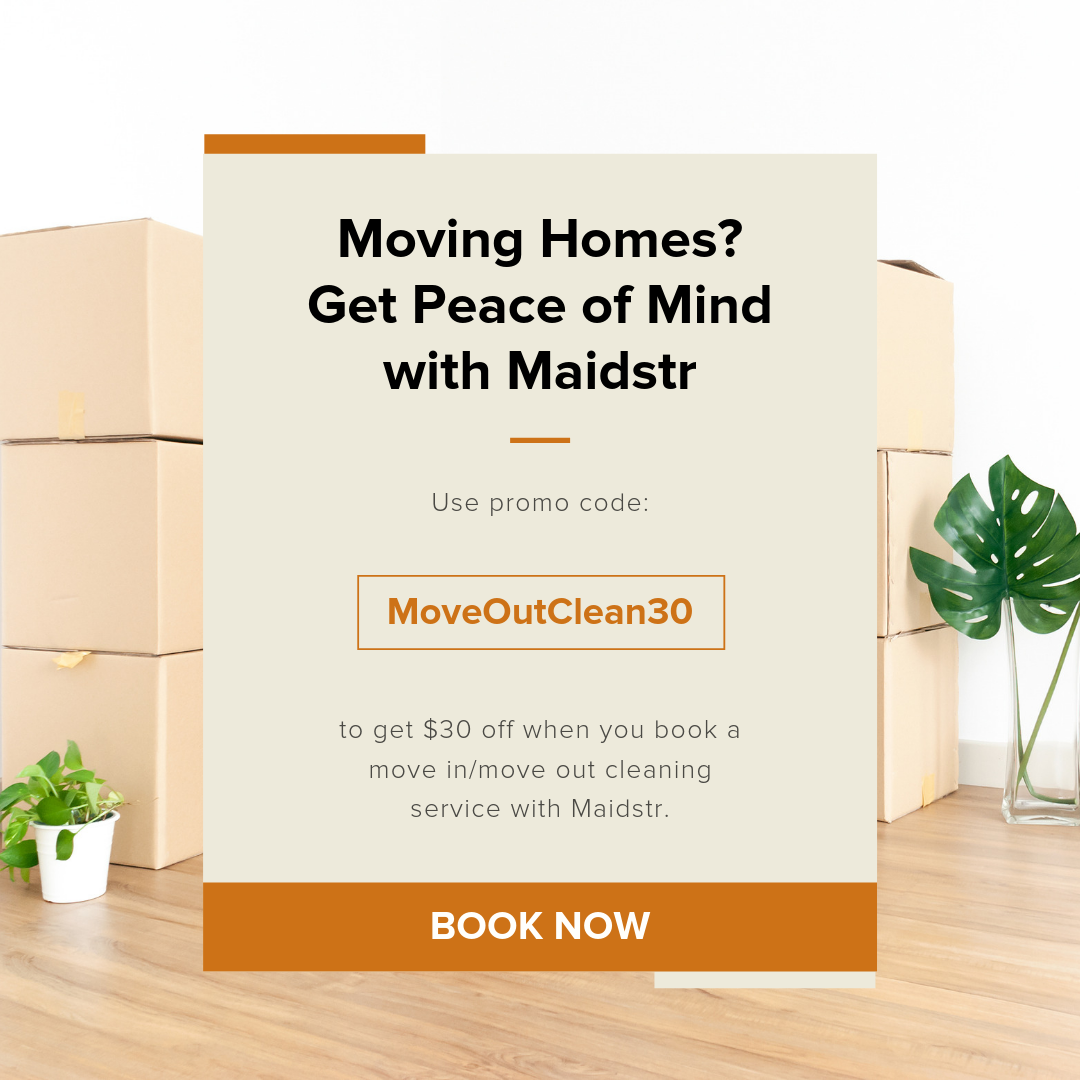 Move In Move Out Cleaning Offer