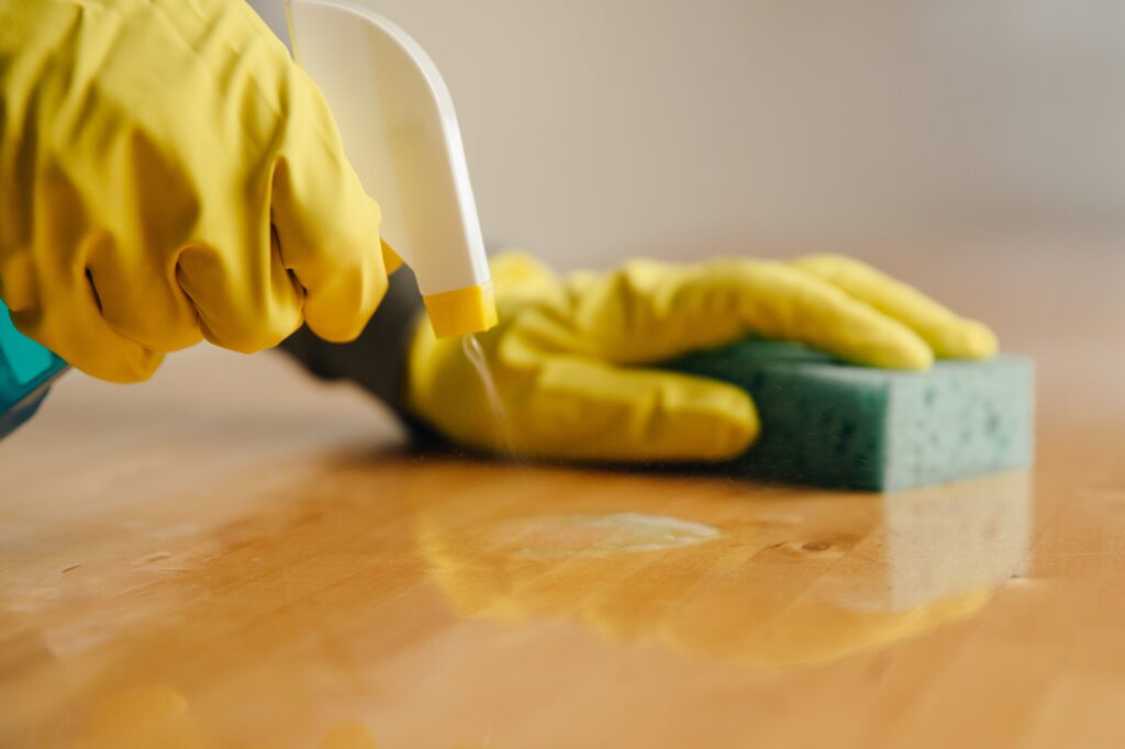 Covid18 and cleaning